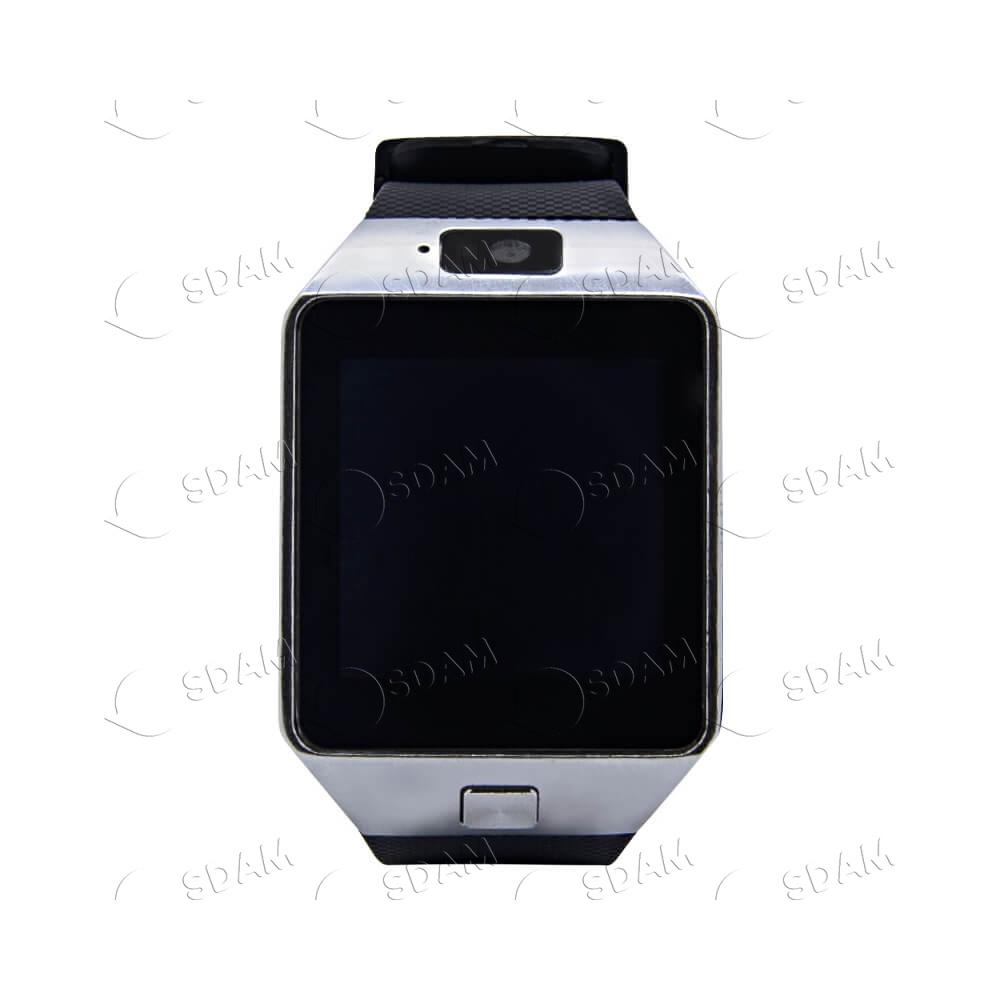 Смарт часы DZ09 (серебряные)